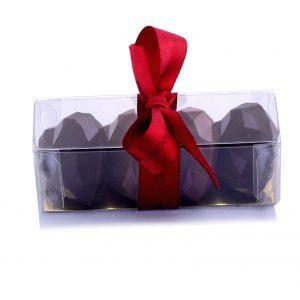 Heart shaped artisan chocolates